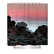 Sunset At Salt Point Shower Curtain