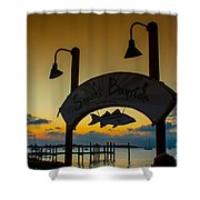 Sunset At Snooks Bayside Shower Curtain