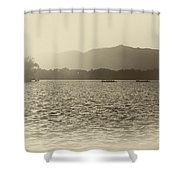 Sunset At Summer Place Shower Curtain