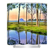 Sunset At Sweet Springs Shower Curtain