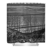 Sunset At The Bay 4 Shower Curtain