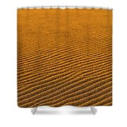Sunset At The Great Sand Dunes National Shower Curtain