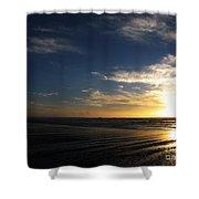 Sunset At Westport Beach Shower Curtain
