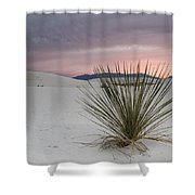 Sunset At White Sands Shower Curtain