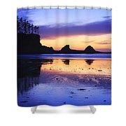 Sunset Bay Shower Curtain