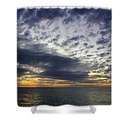 Sunset Beach Hawaii Shower Curtain