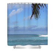 Sunset Beach Oahu Hawaii Shower Curtain