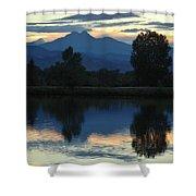 Sunset Blue Shower Curtain