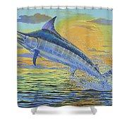 Sunset Blue Off0085 Shower Curtain