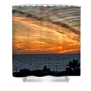 Sunset Blues Shower Curtain