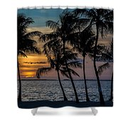Sunset Breeze Shower Curtain