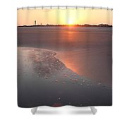 Sunset By Jan Marvin Shower Curtain