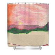 Sunset By Jrr Shower Curtain