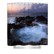 Sunset Churn Shower Curtain