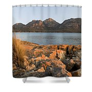 Sunset Coast Shower Curtain