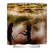 Sunset Dance Shower Curtain
