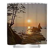 Sunset De Agave Shower Curtain
