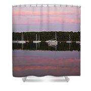 Sunset Embrace Shower Curtain