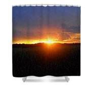 Sunset Eye Shower Curtain