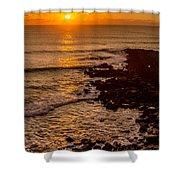 Sunset Far Away Shower Curtain