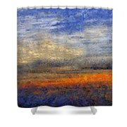 Sunset Field Shower Curtain