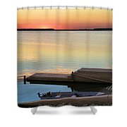 Sunset Fishing Shower Curtain