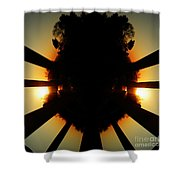 Sunset Folly Shower Curtain