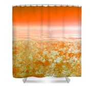 Sunset From Above Shower Curtain