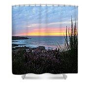 Sunset Garden View Shower Curtain