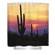 Sunset Glory Shower Curtain