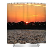 Sunset Glow 2 Shower Curtain