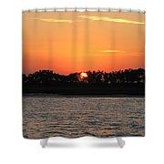 Sunset Glow Shower Curtain