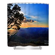Sunset Grand Canyon Shower Curtain