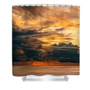 Sunset Grandeur Shower Curtain