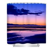 Sunset Great Salt Lake - Utah Shower Curtain