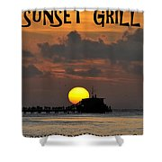 Sunset Grill Don Henley 1984 Shower Curtain