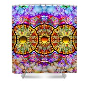 Sunset Grove Shower Curtain
