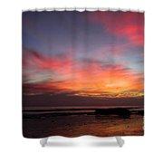 Sunset Handry's Beach Shower Curtain