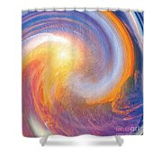 Sunset Illusions Shower Curtain