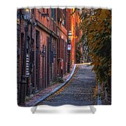 Sunset In Beacon Hill Shower Curtain