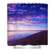 Sunset In Cape Cod Boston Massachusetts  Shower Curtain