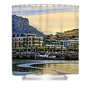Sunset In Cape Town Shower Curtain