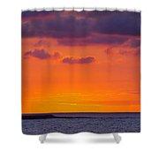 Sunset In Casablanca Shower Curtain