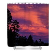 Sunset In Colorado Shower Curtain