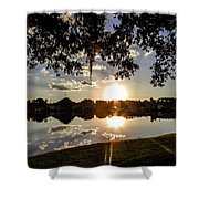Sunset In Florida Shower Curtain