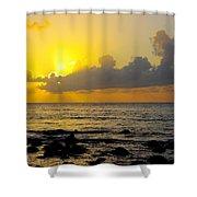 Sunset In Kauai Shower Curtain