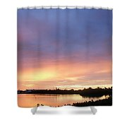 Sunset In Marathon Key Shower Curtain