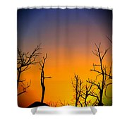 Sunset In Mesa Verde Shower Curtain