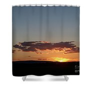 Sunset In Pennsylvania  Shower Curtain