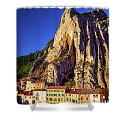 Sunset In Provence Shower Curtain by Elena Elisseeva